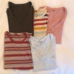 Set of 5 Madewell Shirts